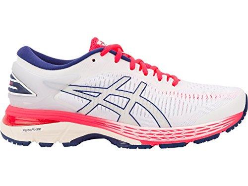 - ASICS Women's Gel-Kayano 25 Running Shoes, 9M, White/White