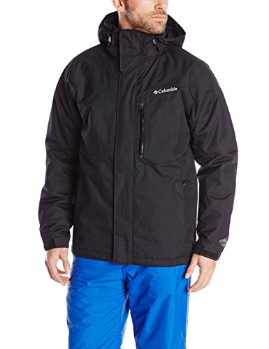 (Columbia Men's Alpine Action Jacket, Black, X-Large)