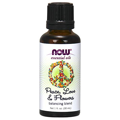 Peace, Love & Flowers Essential Oil Blend Now Foods 1 fl oz