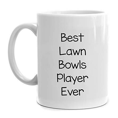 Eddany Best Lawn Bowls Player ever Mug 11 ounces
