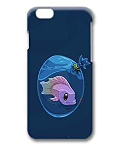 Axolotls Vector Art Custom Protective 3D Case for iPhone 6 4.7 -1220214