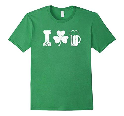 I Clover Beer Love St Patricks Day Irish Drinking (Clover Beer)