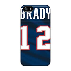Protector Hard Cell-phone Case For Iphone 5/5s (RYz3174IDQZ) Support Personal Customs High-definition New England Patriots Series