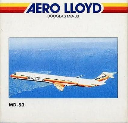 Herpa 507608 Aero Lloyd Douglas MD-831:500 Scale Diecast Display Model
