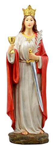 Atlantic Collectibles Catholic Church Holy Great Martyr Saint Barbara Figurine 12