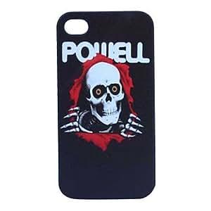 comprar Modelo del cráneo arenoso de la rutina de nuevo caso plástico para el iPhone 5/5S