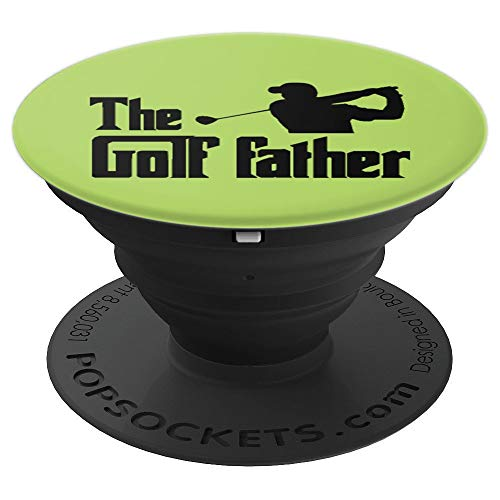 The Golf Father Funny Golf Gift Christmas Ideas - PopSockets Grip and Stand for Phones and Tablets ()