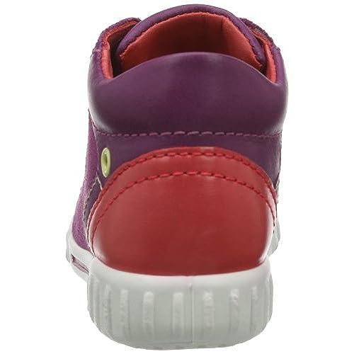 Ecco Mimic Ombre/Marine/Blue Bell Sue/Sue/Sam, Sneakers Basses mixte enfant