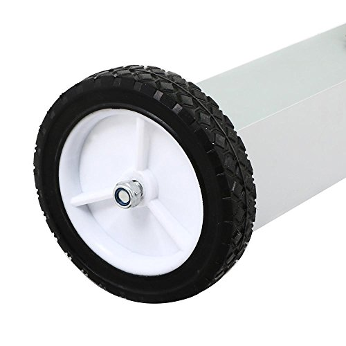 go2buy Heavy Duty Magnetic Sweeper with Wheels, 36 Inches