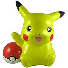 "Pokemon Pikachu Poke Ball Money Coin Bank, Collectible Piggy Bank 8"" Tall"