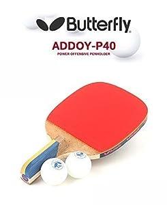 Butterfly addoy P40Tisch Tennisschläger Stiftetui Paddel Ping Pong Schläger...