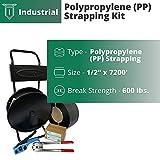 "IDL Packaging Industrial 1/2"" x 7200' Polypropylene"