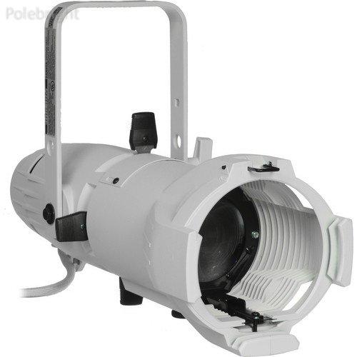 Source Four Junior Zoom 575W Ellipsoidal Spotlight, White, Edison Plug - 25-50 Degree (115-240V AC) - Polebright update (Zoom Ellipsoidal Spotlight)