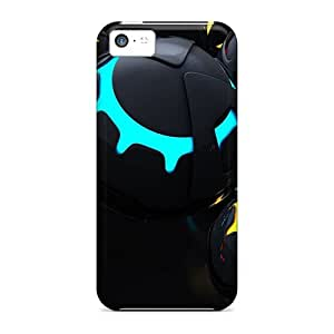 For Iphone 5c Fashion Design 3d Balls Cases-VDW8665CLXn