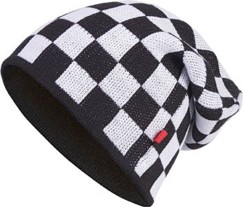 size Beanie Masterdis black one Multicolor Knit Color white;Größe C3 Check OAq8U