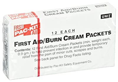 Pac-Kit 13-006 First Aid/Burn Cream Packet (Box of 12) from Pac-Kit