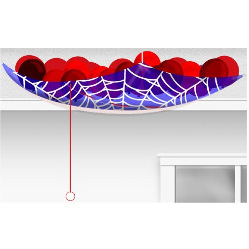 Price comparison product image Spiderman Hero Birthday Balloon Drop