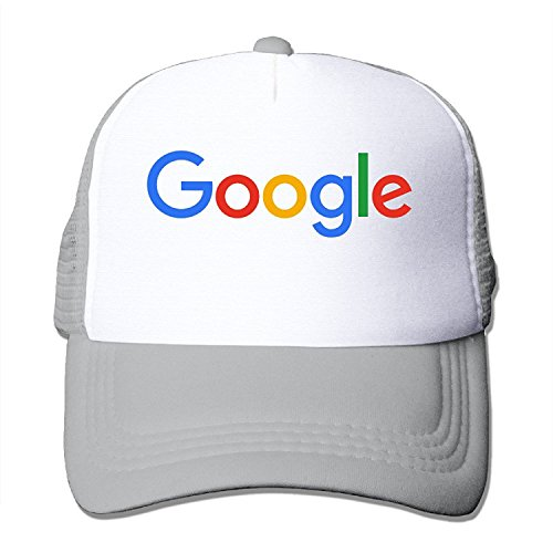 Price comparison product image Google Logo Adjustable Trucker Hats Unisex Ash