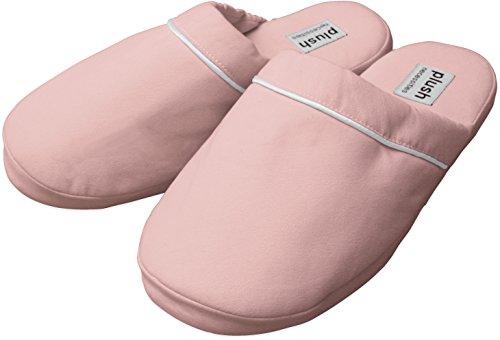 De Luxe Pantoffels - Geborstelde Microfiber Pantoffels Roze