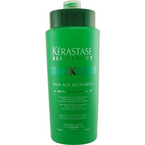 Kerastase Resistance Age Recharge (Resistance Bain Age Recharge Shampoo 34 oz. for Women)