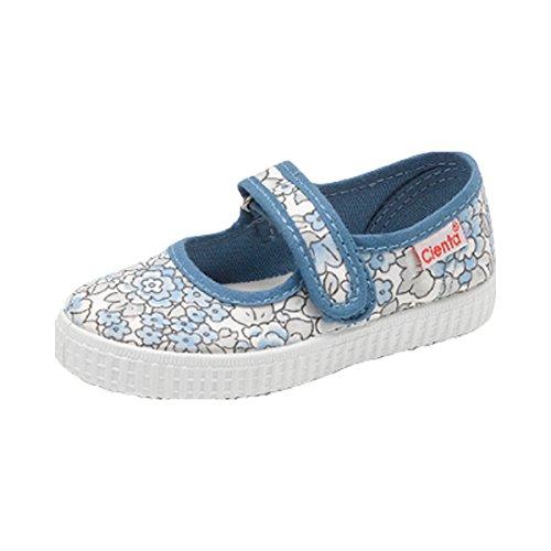 NATURAL WORLD Les ballerines chaussures bébé chaussures enfant, taille 20, bleu