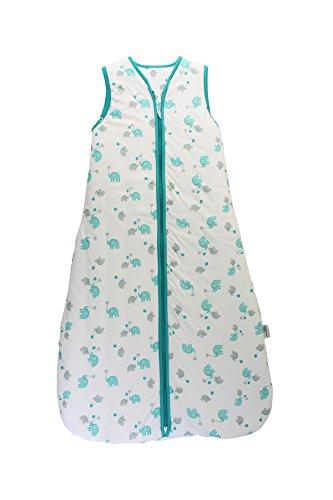 Slumbersac Kid Sleeping Bag 2.5 Tog - Simply Blue Elephant - 3-6 years/130 cm ()