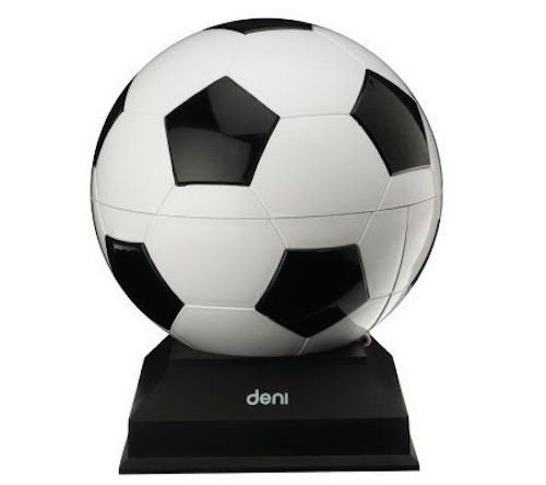 Deni Popcorn Maker 14 Cup Sports Hot Air Popcorn Popper Soccer