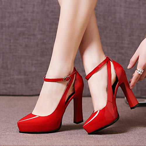 Heels Cat Female Shoes High High White With Pointed Princess Red Female Stiletto Small Fresh 36 Yukun Girl heels Wild w8F6q8X