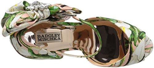 Badgley Mischka Women's Samra Heeled Sandal Pink Floral otX52w