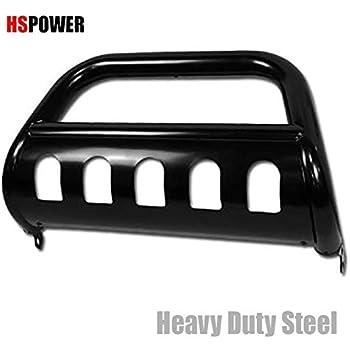 Amazon Com Hs Power Black Hd Heavy Duty Steel Bull Bar