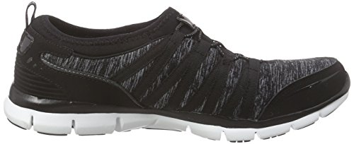 top Schwarz Donne Low Da Gratis Shake it off Skechers Di Colore Tennis Scarpe bkw Delle RapXWOa