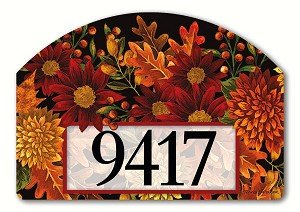 Magnet Works MAIL71047 Welcome Fall Yard DeSign