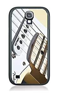 Case Cover Guitar Musical for Samsung S5 GI10 Border Rubber Silicone Case Black@pattayamart