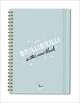 Agenda anual día/vista La Vecina Rubia 2019: Brillibrilli is the new black (TANTANFAN)