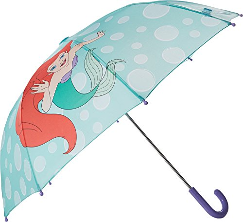 Princess Umbrella (Western Chief Baby Little Girl Character Umbrella, Ariel Disney Princess, One Size)