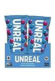 UNREAL Dark Chocolate Snack Pack, Peanut Gems, 12 Pack