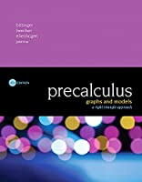 Precalculus: Graphs and Models, A Right Triangle Approach (6th Edition) Front Cover