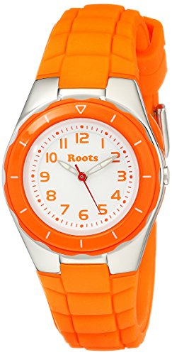 Roots Women's 1R-AT425OR1O Saturna Orange Plastic Watch (Roots Canada Watch)