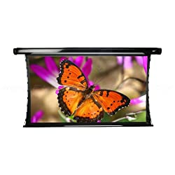 Elite Screens Cinetension2 115 Inch 2 35 1 Tab Tensioned Electric Drop Down Projection Projector Screen Te115c E24