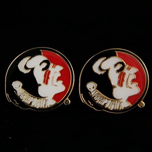 (NCAA Florida State Seminoles Team Logo Post Earrings)