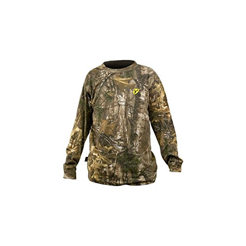 Scent Blocker Youth Long Sleeve Cotton T-Shirt, Real Tree Xtra, Small (Hunting Gear For Boys compare prices)
