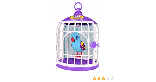 Amazon.es: little live pets - Funky Feathers, pajarito con Jaula ...
