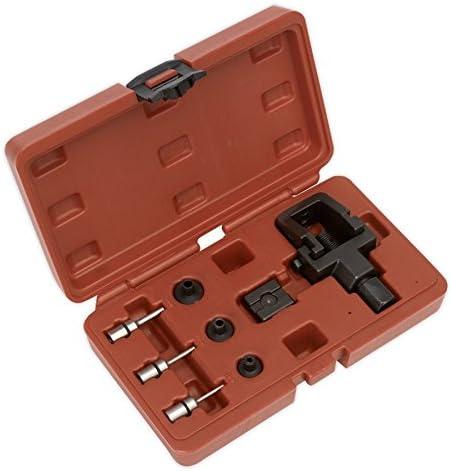 Sealey MS025 Heavy-Duty Motorcycle Chain Splitter /& Riveting Tool Set