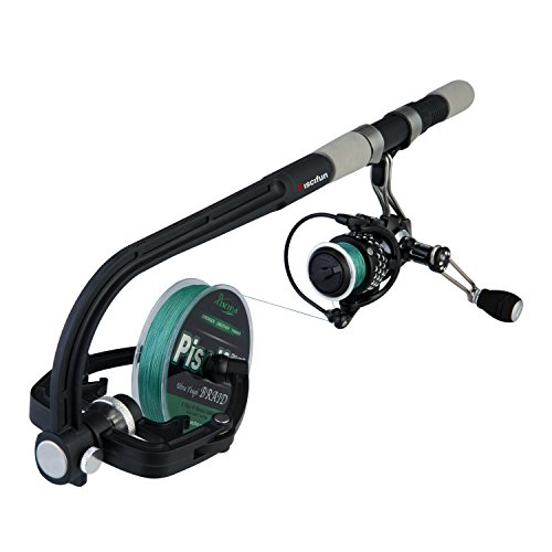Piscifun Professional Portable Spooling Station Fishing Reel Line Spooler & (Professional Spinning Reel)
