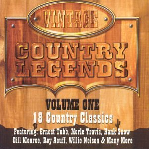 Vintage Country Legends, Vol. 1 by Various - Mastersong Cd