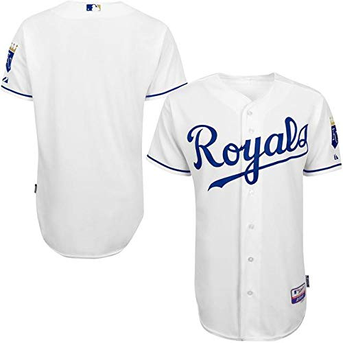 Majestic 60 Majestic White Kansas City Royals White Home Authentic 6300 Team Authentic Jersey スポーツ用品【並行輸入品】 60 B07GNTP4WT, ドリームコンタクト:32aeb380 --- cgt-tbc.fr