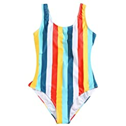 Enchanted Dream Womens One Piece Bathing Suit Ruched Tummy Control Swimsuit Backless High Cut Swimwear