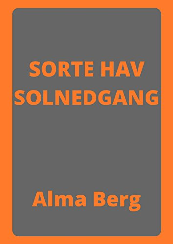 Sorte Hav Solnedgang (Danish Edition)