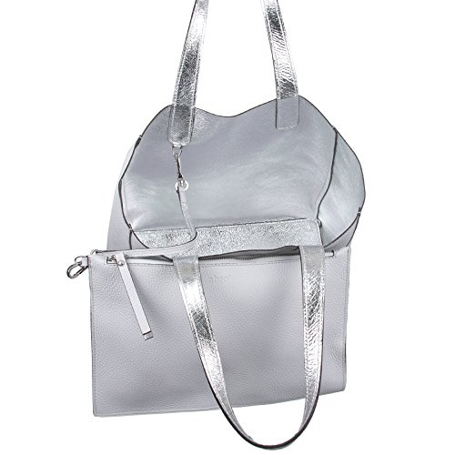 abro Shopper Calf Leder in light grey ab-26940-17-13