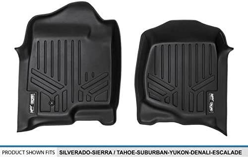 2007-2014 1st Row 2007-2013 MAXLINER A0015 Silverado-Sierra-Avalanche Tahoe-Suburban-Yukon-Denali-Escalade Black